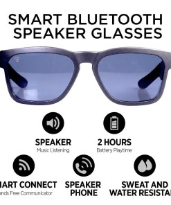 Smart Sunglasses with Bluetooth Speakers