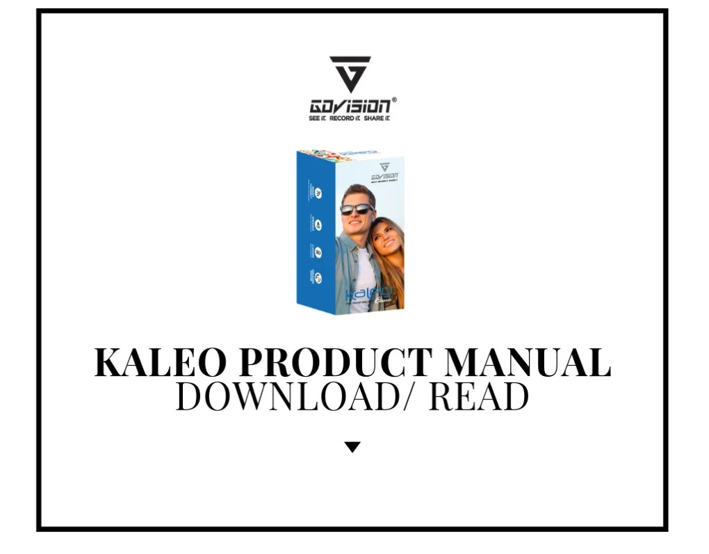 Product Manual Kaleo