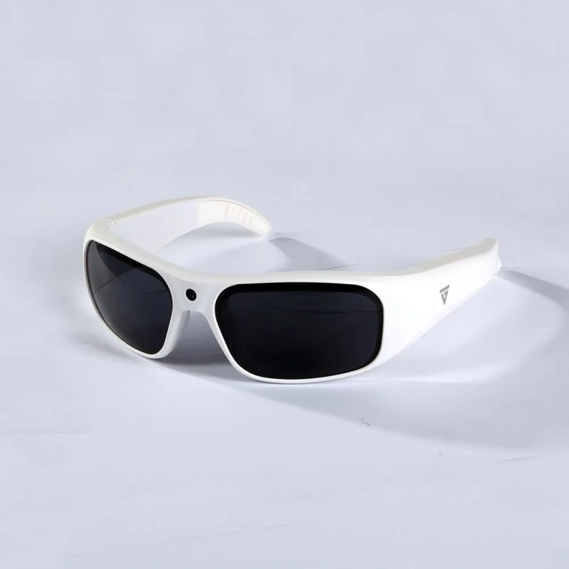 Water Resistant Camera Sunglasses White 2