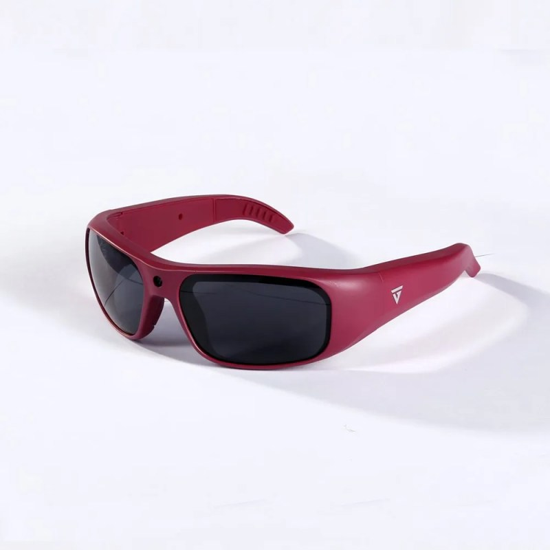 Water Resistant Camera Sunglasses Maroon 1