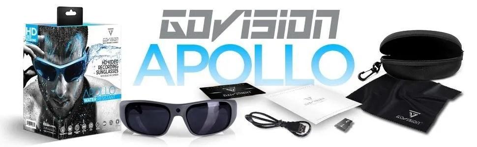 water resistant camera Sunglasses