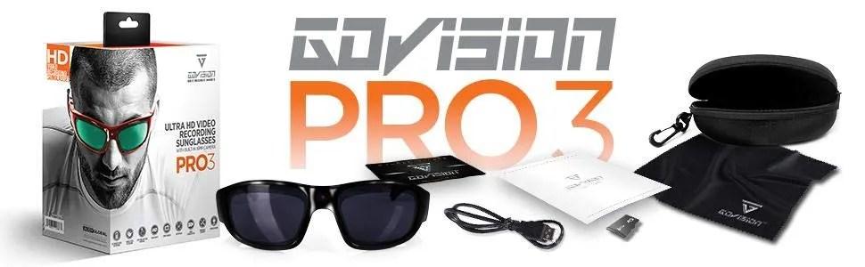 PRO 3 Recording Sunglasses