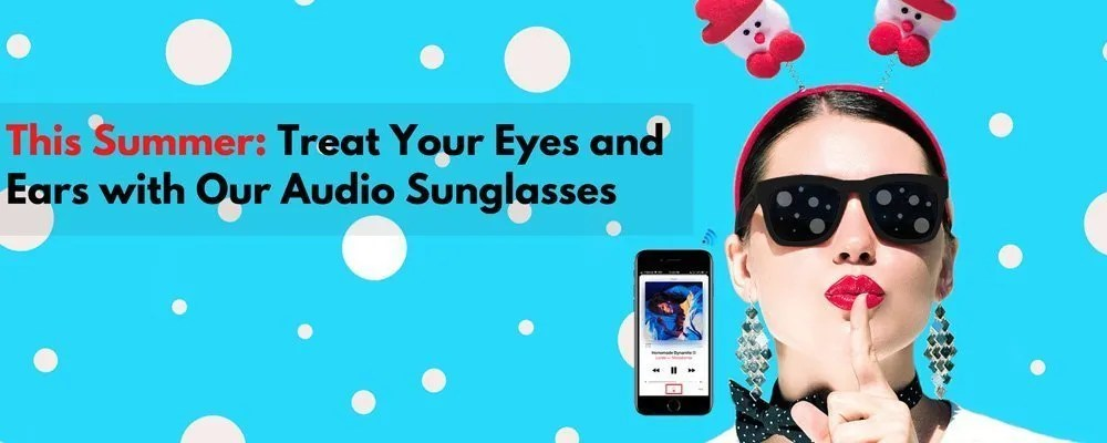 Audio Sunglasses with Speakers