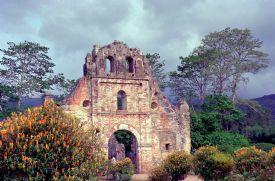 Ruïnes van de 1693 Iglesia de Nuestra Senora