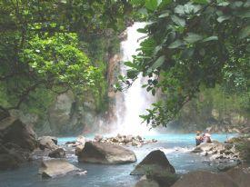 Rio Celeste Waterval