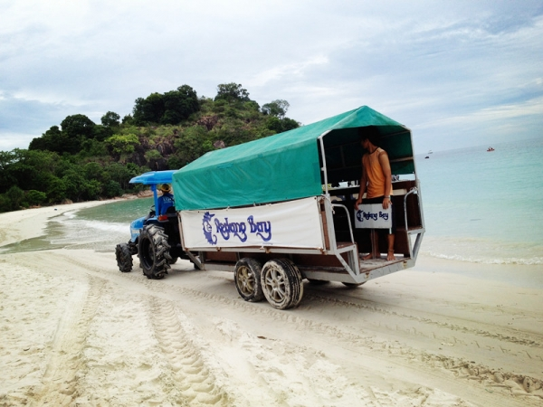 Redang Bay Beach Transfer