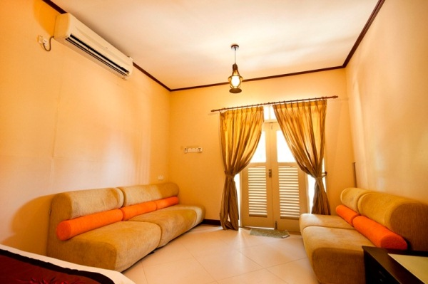 Redang Mutiara Beach Resort Family Suite Living Hall