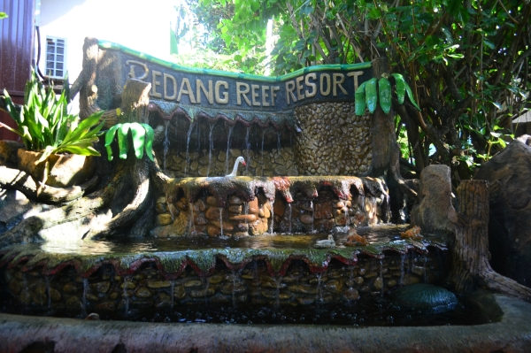 Redang Reef Resort Entrance