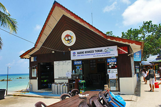 Salang Indah Resort Dive Centre