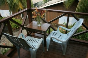 Sun Beach Resort Deluxe Chalet Balcony