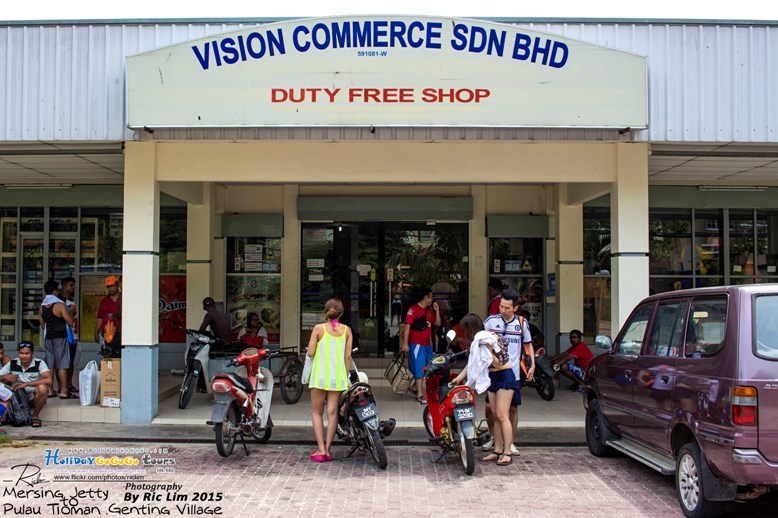 Duty Free Shop in Tioman Tekek