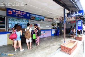 Ferry Ticket Counter at Mersing Jetty