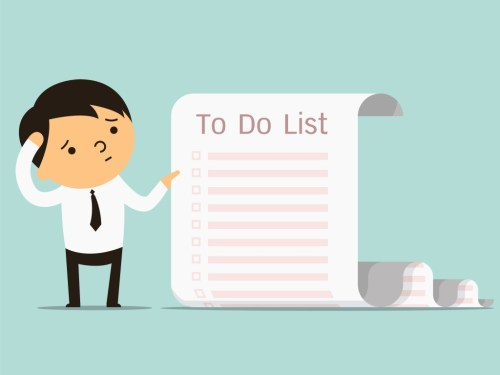 Image result for long to-do list