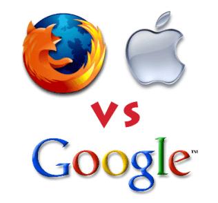 Apple & Mozilla vs Google