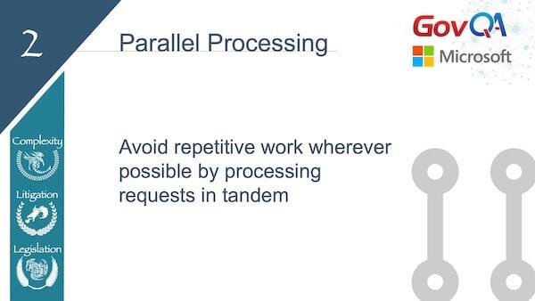 GovQA Slay The Public Records Dragon Presentation Slides Parallel Processing