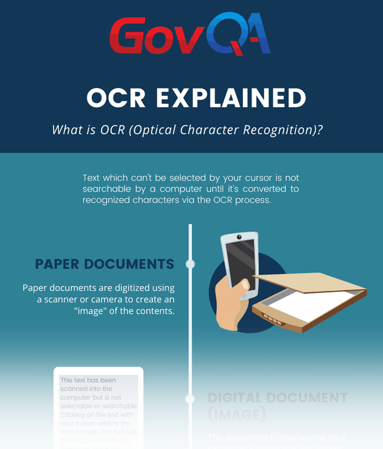 optical character recognition downloadable infographic