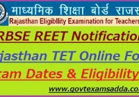 REET Notification 2021
