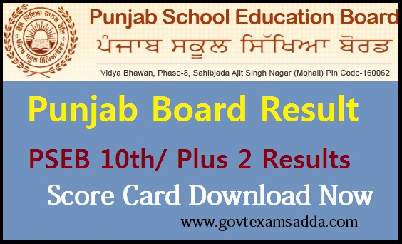 Punjab Board Result 2019