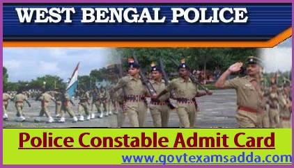 WB Police Admit card 2020