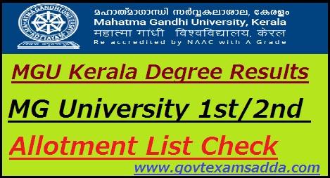 Kerala university cbcss bcom results