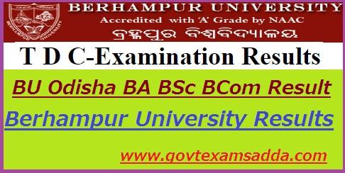 Berhampur University Result 20-19