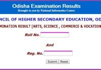 Odisha +2 Result 2021