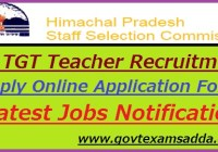 HP TGT Teacher Recruitment Notification 2020-21