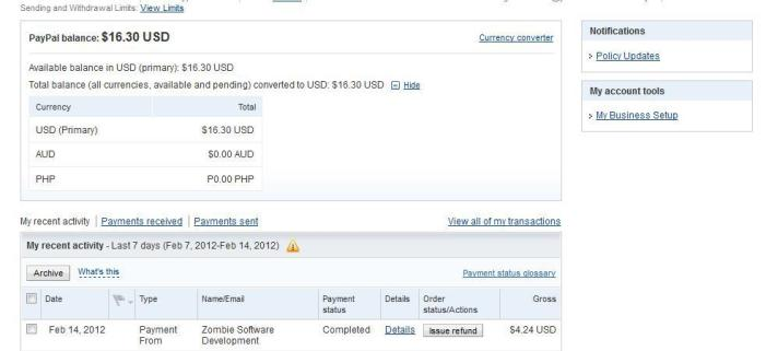 Megatypers payment proof