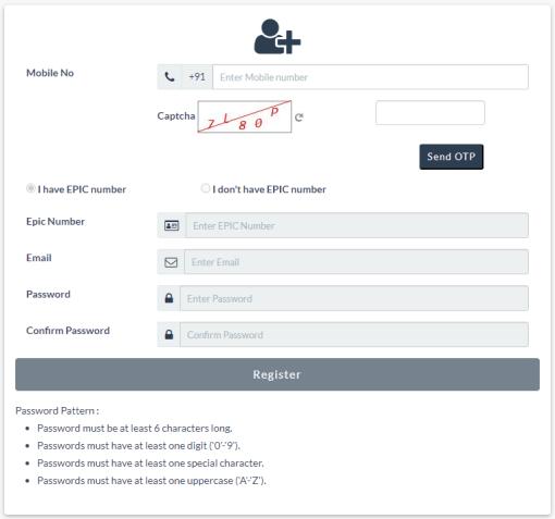 NVSP Registration