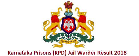 Karnataka Jail Warder Result 2018