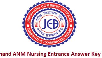 Jharkhand BSC Nursing Entrance Answer Key 2019 Download || JCECEB