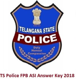 TS Police FPB ASI Answer Key 2018