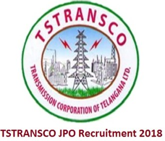 TSTRANSCO JPO Recruitment 2018