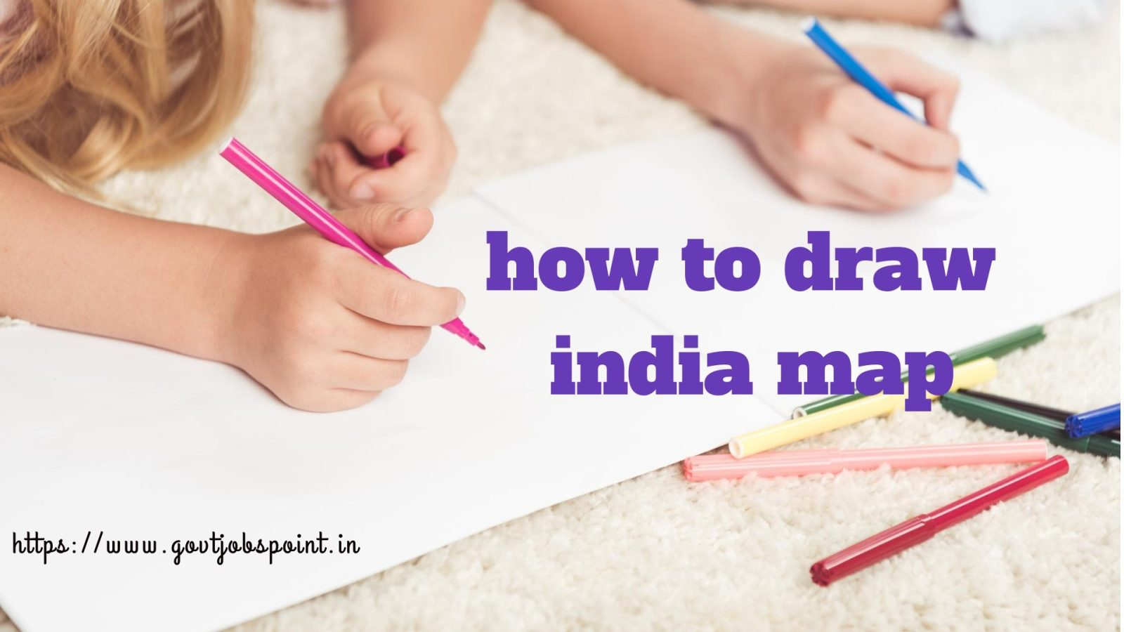 how to draw india map