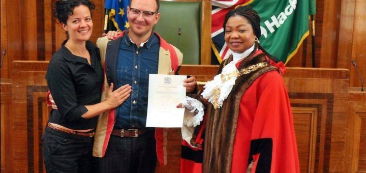 Citizenship ceremony UK