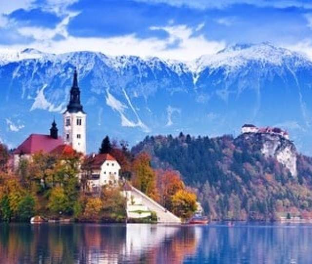 There Is Very Beautiful Scenery And Many Photo Opportunities On All Slovenia Tours