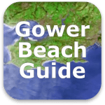 Gower Beach Guide App log