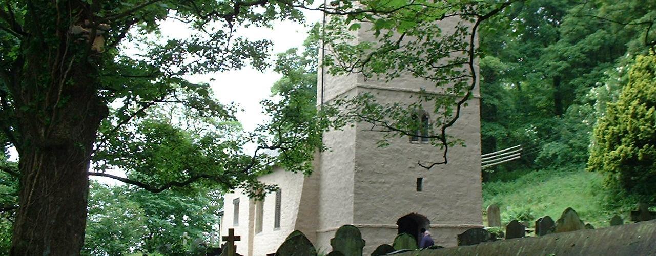 St Illtyd's Church, Oxwich, The Gower Peninsula, Swansea
