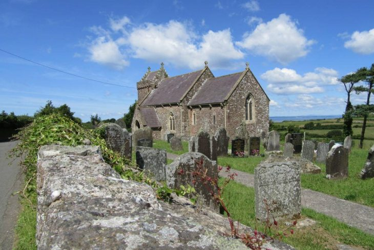 St Madoc's Church, Llanmadoc, The Gower Peninsula, Swansea