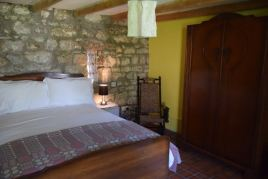 The second bedroom at Delvid Stables holiday cottage, Llangennith, Gower
