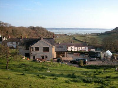 Forge Cottage bed and breakfast, Llanmadoc, Gower Peninsula