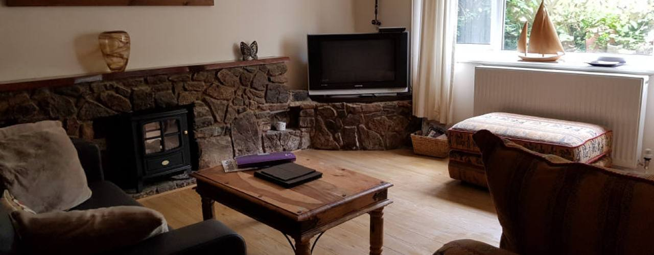 The lounge Sea Breeze Apartment 2, Horton, Gower