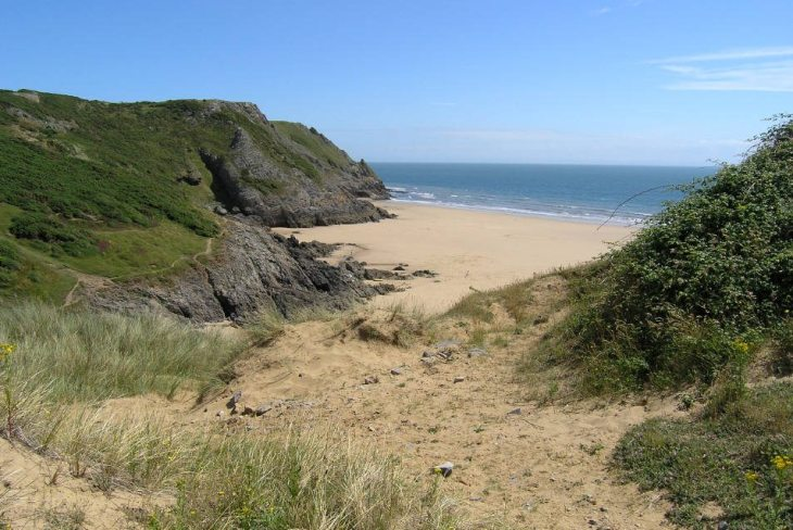 Pobbles Bay, Gower