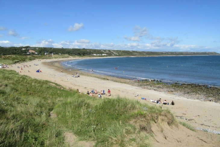 Port Eynon Bay, the Gower Peninsula