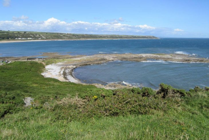 Salthouse Mere, Port Eynon, Gower Peninsula, South Wales