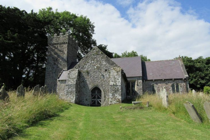 St Andrew's Church, Penrice, The Gower Peninsula, Swansea