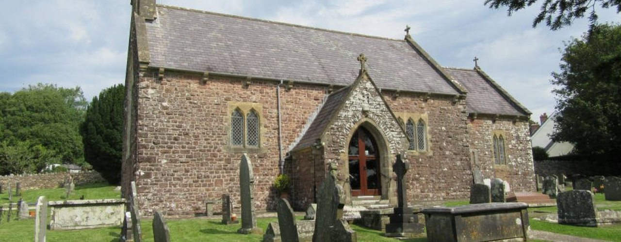 St George's Church, Reynoldston, Gower Peninsula, Swansea
