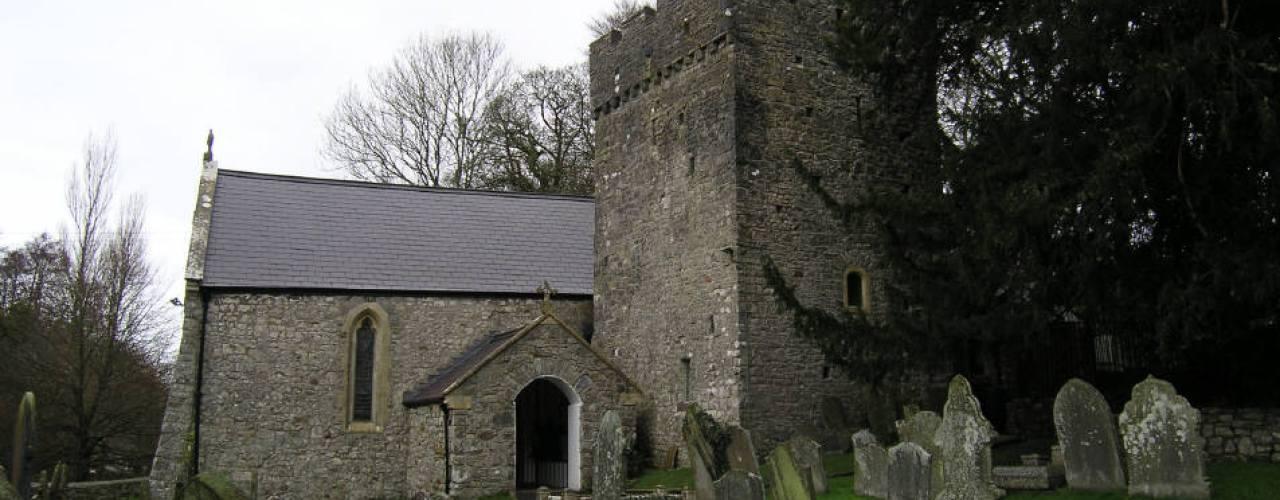 St Illtyd's Church, Ilston, Gower Peninsula, Swansea