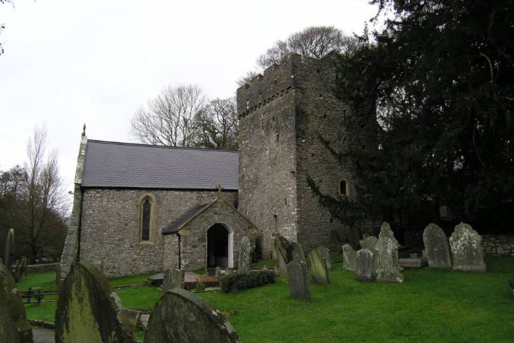 St Illtyd's Church, Ilston, Gower Peninsula, Swansea