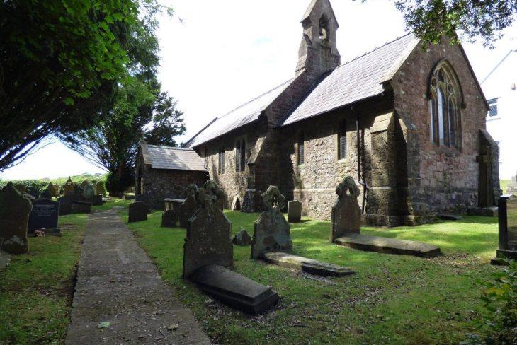 St John The Baptist's Church, Penmaen, The Gower Peninsula, Swansea